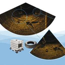MULTIBEAM SONAR DUAL-FREQUENCY